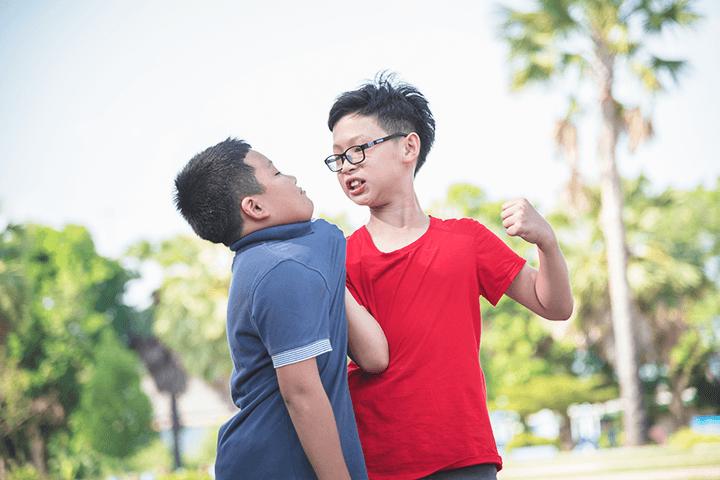 暴力をふるう子ども・いじめ